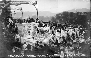 Sewickley Bridge Celebration, 1911