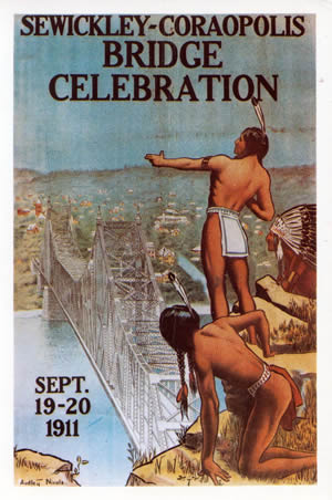 Sewickly Bridge Celebration: Indian Poster