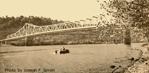Sewickley Bridge, Photo by Joseph F. Smith
